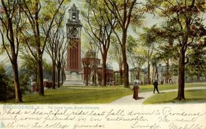 RI - Providence. Brown University, Carrie Tower