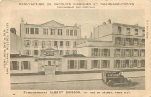 Etablissements ALBERT BUISSON Truck Manufacture of chemicals and pharmaceuticals