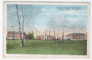 Eden Divinity School Webster Groves Missouri postcard