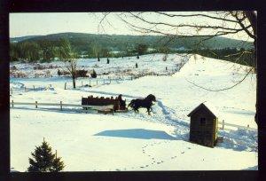 West Brookfield, Massachusetts/MA Postcard, The Salem Crofs Inn, Route 9