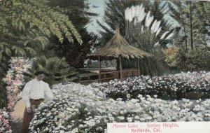 REDLANDS , California, 00-10s ; Mirror Lake -- Smiley Heights