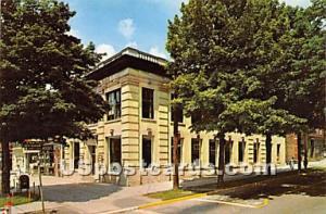 National Union Bank Monticello NY non postcard backing