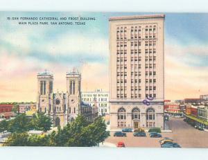 Linen FROST BUILDING San Antonio Texas TX L5719