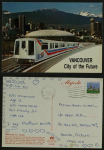 Vancouver skytrain LRT pmk 1985
