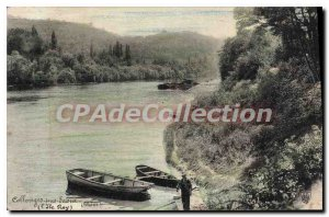 Postcard Old Collouges Under Saone Roy