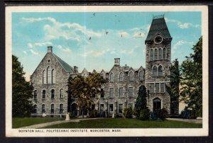 Boynton Hall,Polytechnic Institutue,Worcester,MA BIN