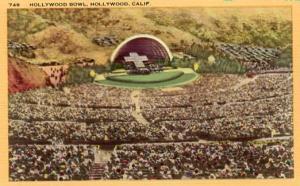 CA - Hollywood, Hollywood Bowl