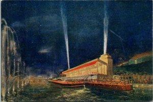 Paris Exposition 1937 Rio Georges Restaurant King George Unused Postcard G58