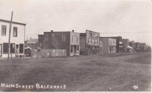 RP: BALCARRES , Saskatchewan , Canada , 00-10s ; Main Street (dirt)
