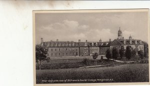 P1844 old pc view of st francis xavier collkege antigonish nova scotia canada