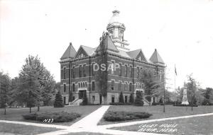 C90/ Blair Nebraska Ne Real Photo RPPC Postcard c1950s Court House Building
