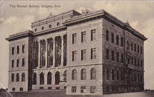 CALGARY, Alberta, Canada, PU-1910; The Normal School