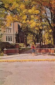 Greencastle Indiana~DePauw University~College Co-Ed Under Alumni Arch~1962 PC