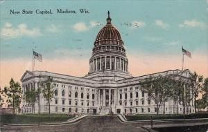 New State Capitol Madison Wisconsin