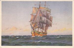 AS: Sailing Vessel in choppy water, 10-20s