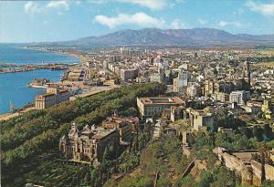 Vista general Malaga Spain