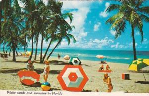 Florida Beach Scene White Sands and Sunshine