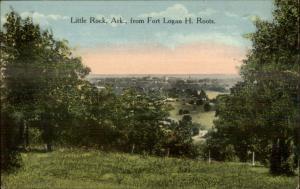 Little Rock AR From Logan H Roots c1910 Postcard