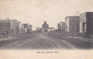 ALAMEDA , Saskatchewan , Canada , PU-1910 ; Main Street (dirt)