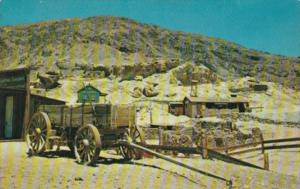 Freight Wagon Calico Ghost Town East Of Barstow California