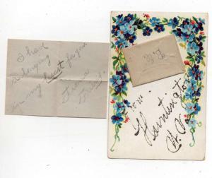 Huntington West Virginia Greetings Novelty Mini Envelope Postcard J76942