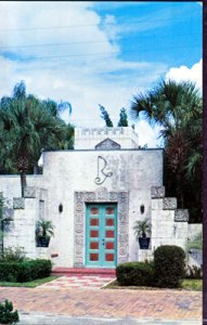 Maitland FL - main entrance to the Art Research Studio, 1960s