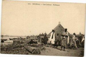 CPA AK Senegal-Rufisque-Les Lebous (235366)