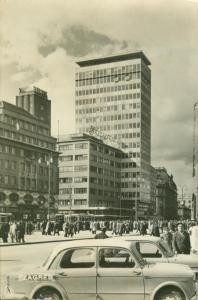 Croatia, Zagreb, 1962 used real photo Postcard