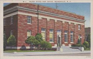 North Carolina Waynesville United States Post Office