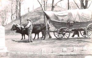 Ox Team and Historical Mound - Marietta, Ohio