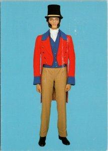 Uniform of General Post Letter Carrier England UK Postal Museum Postcard C3