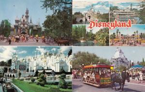 Disneyland USA 4x Postcard s