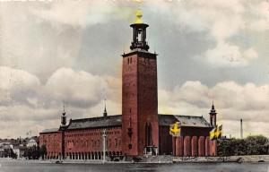Sweden Stockholm Stadshuset The Town Hall 1962