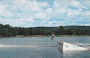 Callaway Gardens water skiing, Pine Mountain, Georgia,  40-60s
