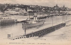 BOULOGNE SUR MER , France , 00-10s ; The Outer port