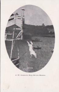 Lake Ontario J W Gorman's High Diving Horses Queen