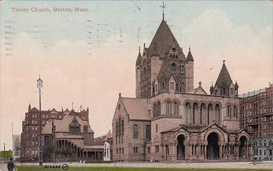 Trinity Church Boston Massachusetts1910