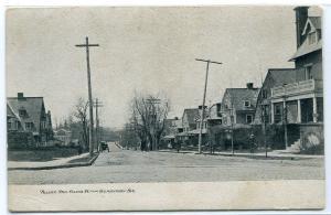 Pelham Phil Ellena St Germantown Philadelphia Pennsylvania 1907c postcard