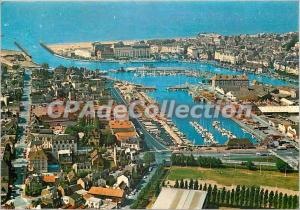 Modern Postcard Trouville Deauville (Calvados) General view of Port