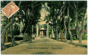 VINTAGE POSTCARD: PERU - LIMA