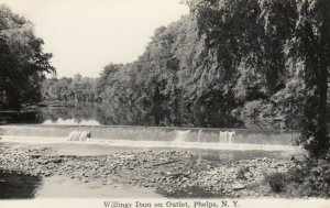 RP: PHELPS , New York , 30-40s ; Willings Dam on Outlet