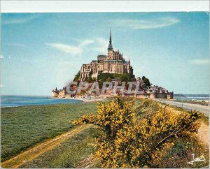 Postcard Modern Marvel of the Western General view of Mount Michel