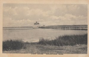 EDGARTOWN , Massachusetts , 1910s ; LIGHTHOUSE