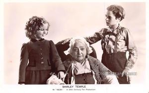 Child Movie Star Shirley Temple Post Card Old Vintage Antique Heidi Unused