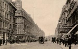 UK - Ireland, Belfast. Royal Avenue