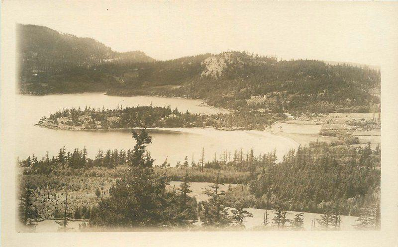 1929 Orcas Island Washington Puget Sound Waldheim RPPC real photo postcard 6830