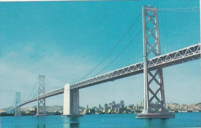 California San Francisco Oakland Bay Bridge