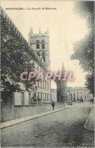 Postcard Old Montpellier School of Medicine