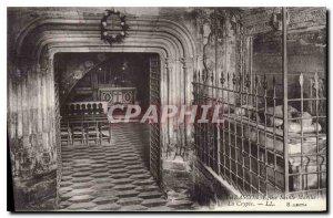Old Postcard Tarascon St Martha Church Crypt