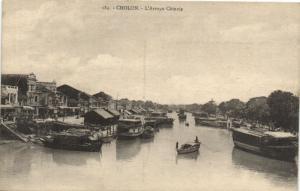 CPA Vietnam Indochine COCHINCHINE Cholon - L'Arroyo Chinois (62175)